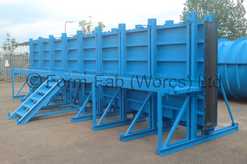Design Of Concrete Wall Formwork : Precast parapet walls